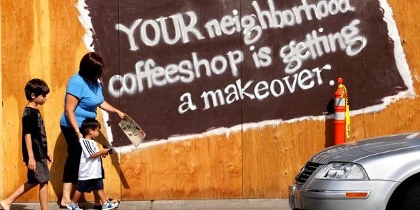 Photo from Seattle Times article - 15th Avenue Coffee & Teas (nee Starbucks)