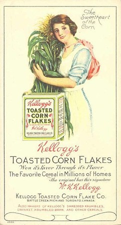 From Wikipedia article on Corn Flakes